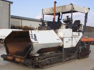 陕建机械 TITAN325 沥青摊铺机