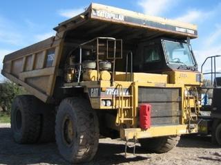 卡特彼勒 775D 非公路自卸车