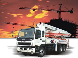 鸿达建工 HDT5350THB-42 泵车