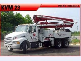 施维英 KVM23 泵车