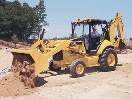 卡特彼勒 416E(可伸缩挖掘臂) 挖掘装载机