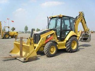 卡特彼勒 420E(伸缩挖掘臂) 挖掘装载机