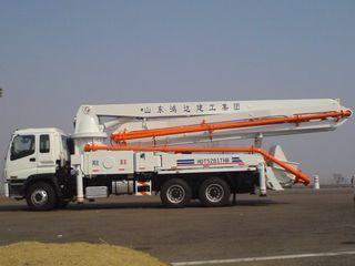 鸿达建工 HDT5281THB-37/4 泵车