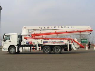 鸿达建工 HDT5291THB-39/4 泵车