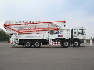 鸿达建工 HDT5380THB-48/5 泵车