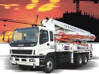 鸿达建工 HDT5360THB-42/4 泵车