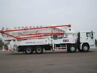 鸿达建工 HDT5400THB-48/5 泵车