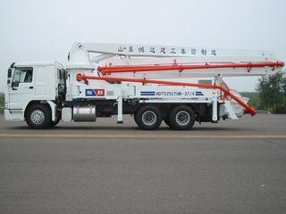 鸿达建工 HDT5251THB-37/4 泵车