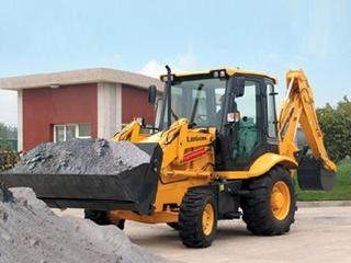柳工 CLG766 挖掘装载机
