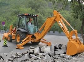 凯斯 580SuperMSeries3 挖掘装载机