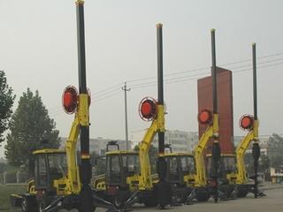 一拖 DFR10轮式多功能旋挖钻机 旋挖钻