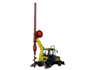 一拖 DFR15轮式多功能旋挖钻机 旋挖钻