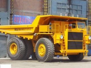 首钢重汽 SGA3550 非公路自卸车