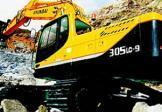 现代R305LC-9挖掘机