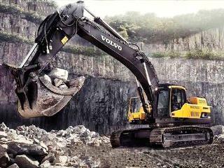 沃爾沃 EC480D 挖掘機圖片