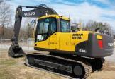 沃尔沃EC160CL清道夫挖掘机