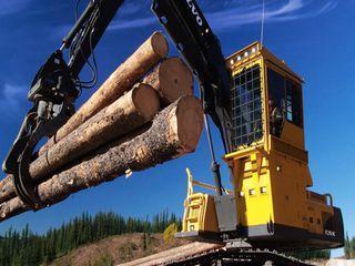 沃尔沃 FC2924C伐木机 挖掘机图片