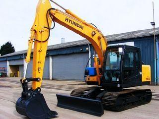 现代R110D-7A 挖掘机