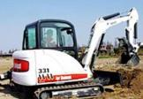 山猫MX331挖掘机