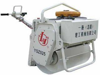 洛建 YSZ025手扶式 压路机图片
