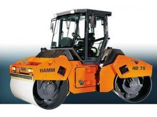 悍马 HD75 压路机