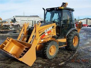 凯斯 580 Super N 挖掘装载机