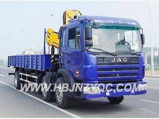 江南专汽 HFC1202KR1K3(江淮小三轴) 起重机