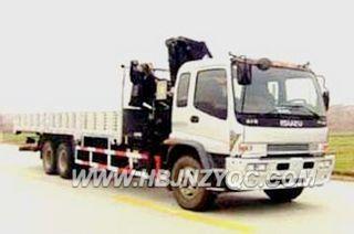江南专汽 FVZ34V(庆铃后双桥) 起重机