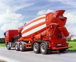 利勃海尔 HTM1204 ZA 搅拌运输车