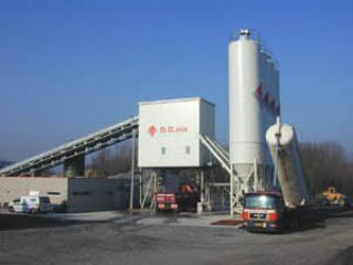 利勃海尔 Betomix4.5水平式 混凝土搅拌站