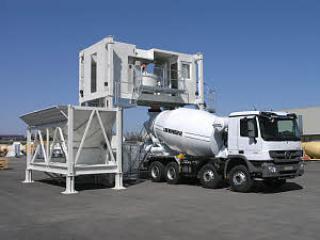 利勃海尔 Mobilmix0.5移动式 混凝土搅拌站