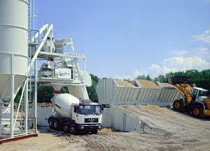 利勃海尔 Mobilmix2.25移动式 混凝土搅拌站