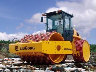柳工 616L垃圾压实 压路机