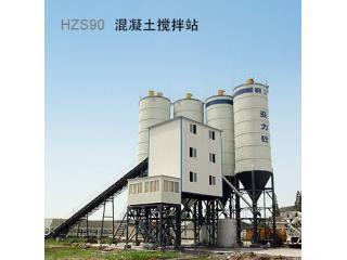 柳工 HZS90 混凝土搅拌站