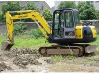 現代 R60-7E 挖掘機圖片