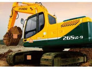 现代R265LC-9挖掘机