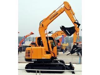 现代R80-9挖掘机