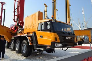 三一重工SY51100THB 86泵车