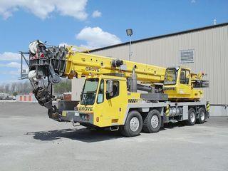 马尼托瓦克 TMS900E 起重机