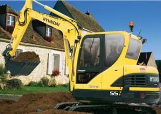 現代 R55i 挖掘機圖片