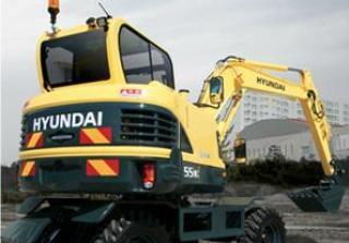 现代R55wi挖掘机