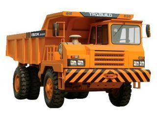 中环动力 BZK D20 非公路自卸车