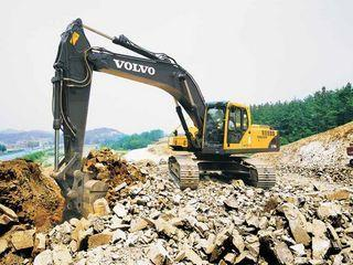 沃尔沃EC290BLC prime(2.55m斗杆)挖掘机