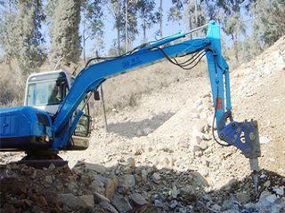 劲工 电动固定式破拆站 挖掘机