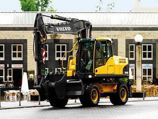沃尔沃EW160C挖掘机