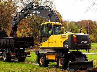 沃尔沃EW180C挖掘机