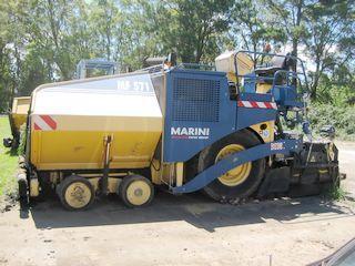 玛连尼 MF571 沥青摊铺机
