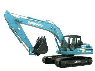 山河智能SWE210Hybrid混合动力挖掘机