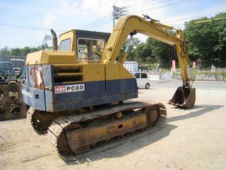 小松 PC80-1 挖掘機圖片