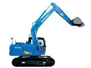 山重建机 GC138-8 挖掘机
